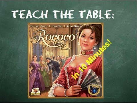 How to play Rococo - Teach The Table