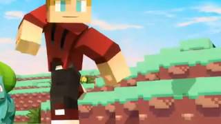 Minecraft Pokemon Song Pixelmon Song Of The First - Best Minecraft Parody Enchanted 2015