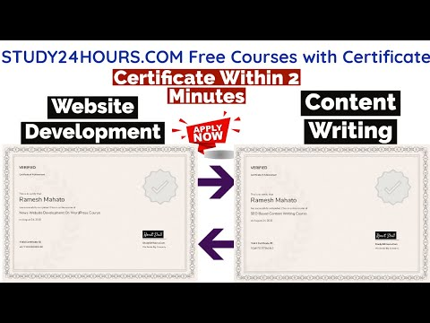 Free Online Courses With Certificate | Content Writing | Free Certificate