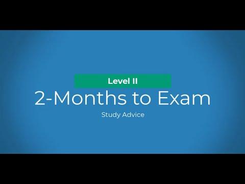Level II CFA: Study Advice - 2-Months to the Exam - YouTube