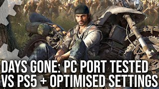Revisión técnica de Days Gone PC: comparaciones de PS5, análisis de configuración y más