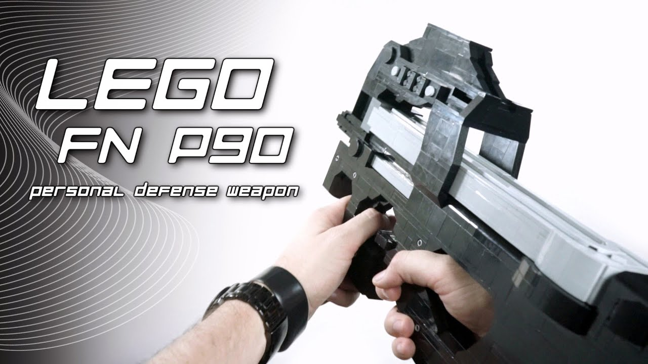 LEGO FN P90 Personal Defense Weapon