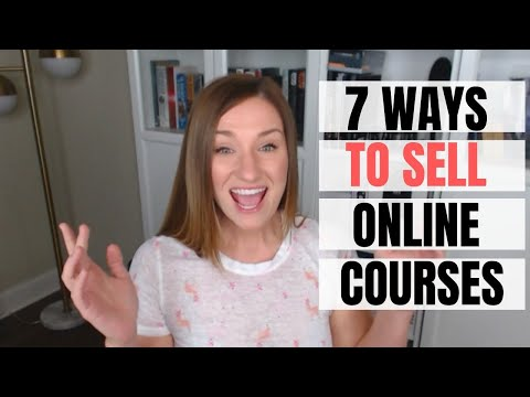 7 ways to sell online courses that ACTUALLY work - YouTube