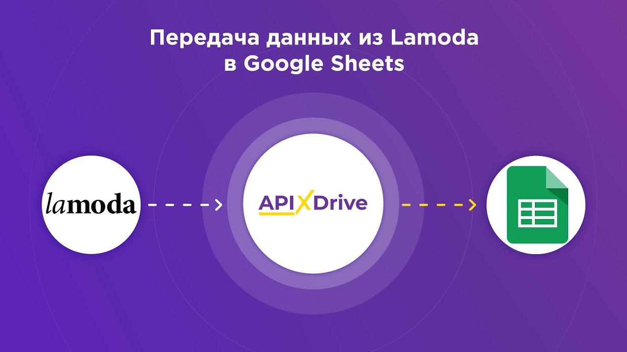Как настроить выгрузку данных по заказам из Lamoda в GoogleSheets?
