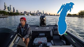 Attempting To Travel Lake Michigan In A Bass Boat! (500 Miles-Day 1)