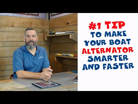 How Do I Increase My Alternator Output to Charge My Batteries Faster?