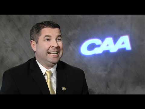 Towson Men's Coach Pat Skerry - 2011 CAA Basketball Media Satellite Uplink Interview