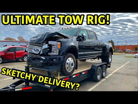 Download Rebuilding A Wrecked 2019 Ford F-450 Platinum HD Mp4 3GP Video and MP3