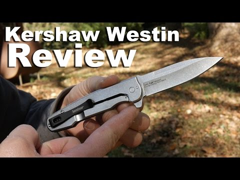 Kershaw Westin Pocket Knife Review with  Speed Safe Assisted Opening.