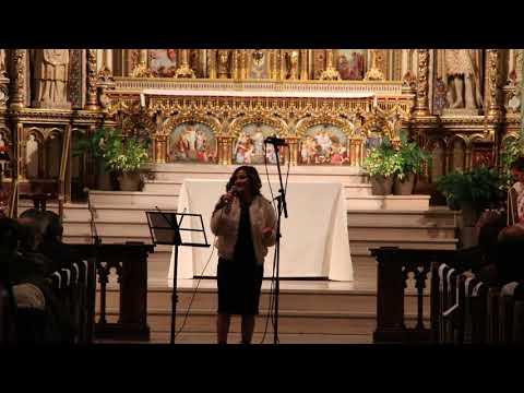European Union Christmas Concert - Samantha Ammoun sings Adestes Fideles
