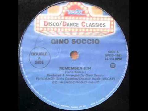 Gino Soccio - Remember (canadian french remix '82)
