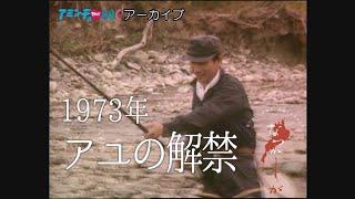 1973年 アユの解禁【なつかしが】