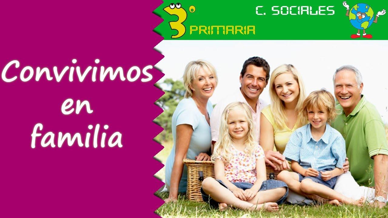 Ciencias Sociales. 3º Primaria. Tema 1. Convivimos en familia
