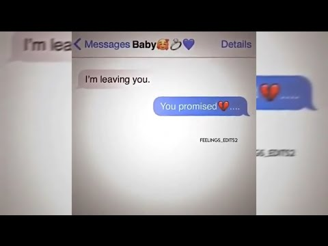 Sad Text Message Edits | #3
