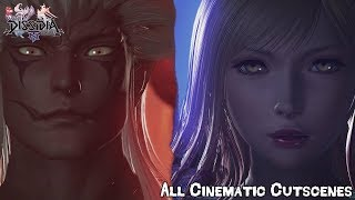 Dissidia Final Fantasy NT Cinematic Cutscenes English [Full Movie]