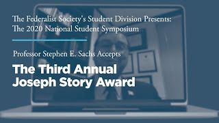 Click to play: The Third Annual Joseph Story Award