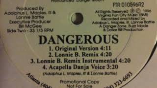 Vinyl Versions Danja Mowf Dangerous Lonnie B remix