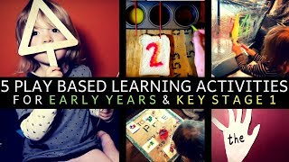 5 PLAY ACTIVITIES | EARLY YEARS & KEY STAGE ONE | MATHS, PHONICS, WRITING, READING