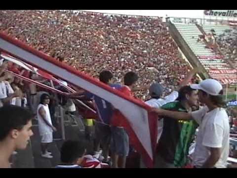 """""""Vs Huracan. Gol y La banda del rojo ya llego !"""" Barra: La Barra del Rojo • Club: Independiente • País: Argentina"""