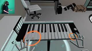 videó VR Pianist