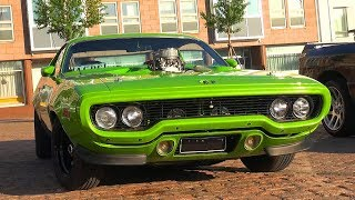 Amazing MUSCLE CARS Show Up To This Meet!! *INSANE V8 STARTUPS*