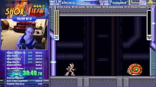 Mega Man X2 Any% World Record In 33:16 With Ultimate CORE Support