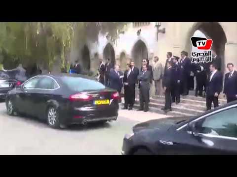 لحظة مغادرة السيىسى لـ«قبرص» بعد انتهاء فعاليات القمة الثنائية