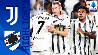 Juventus 3-0 Sampdoria | Kulusevski Scores on Debut as Juve Open with a Win | Serie A TIM