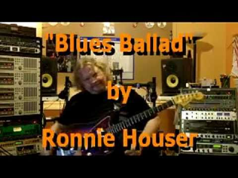 Ronnie Houser plays Blues Ballad on a '61 Jazzmaster