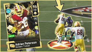 Mr. Adrian Peterson Is On The Field! CRAZY Truck Animation! (Madden 20)