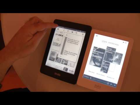 E-Book-Reader mit Beleuchtung - Kobo Glo und Amazon Kindle Paperwhite