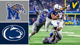 #17 Memphis vs #10 Penn State Highlights | 2019 Cotton Bowl Highlights | College Football