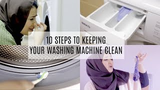 10 Steps to Keeping your Washing Machine Clean