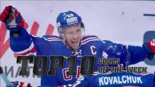 KHL Top 10 Goals for Week 10