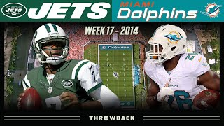 A Perfect Game Out of Nowhere! (Jets vs. Dolphins 2014, Week 17)