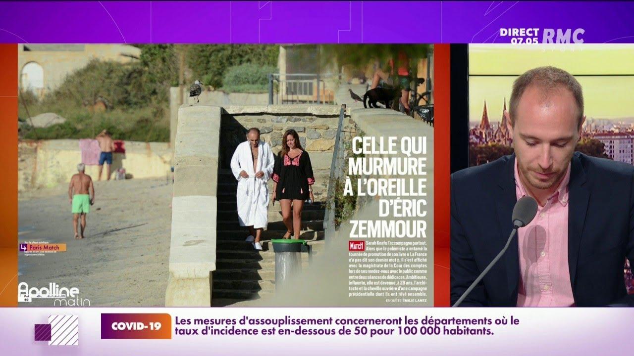 Zemmour et Sarah Knafo dans Paris Match: photos volées ou opération de communication ?