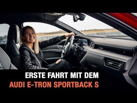 Erste Fahrt mit dem Audi e-tron Sportback S (2020)🚗💨 Fahrbericht | Test | Drift | Review | Quattro