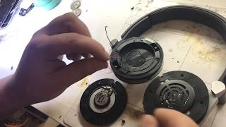 How to Repair JBL Synchros E40BT, Bluetooth Headphones. Only one side working