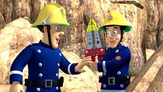 Feuerwehrmann Sam   Einen riesigen Stein bewegen! ⭐️Feuerwehrmann-Cartoons   Cartoons für Kinder
