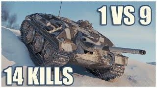 E 25 Cockroach • 14 KILLS • WoT Gameplay