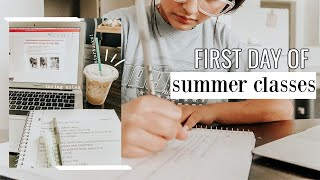 college day in my life: summer classes 2020