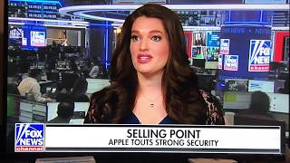 Fox News: Security versus Privacy, with AG Barr and Apple
