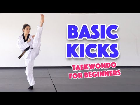 Learn Martial Arts: 3 Basic Kicks for Beginners