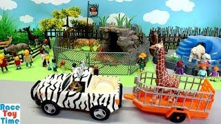 Zoo Wild Animals Toys Fun For Kids   Learn Animal Names