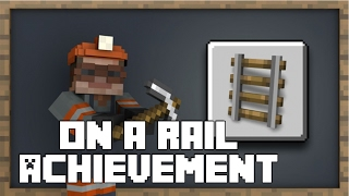MINECRAFT ON A RAIL ACHIEVEMENT GUIDE/BOOST Xbox One