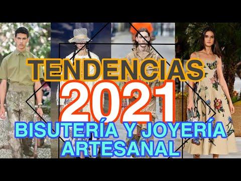 TENDENCIAS 2021 en Bisutería y joyería artesanal/ accesorios #tendencias #moda2021 #2021 #bisuteria