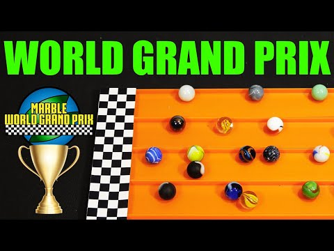 Marble Race Tournament: World Grand Prix 2017