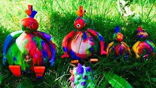 TWIRLYWOOS TOYS Washing Paint Off Outdoors!