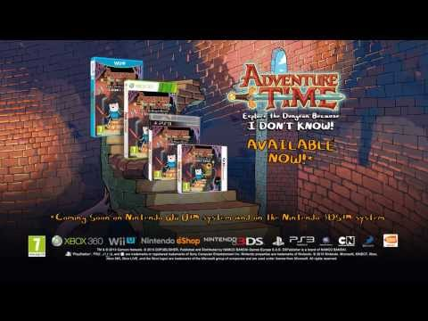 Видео № 0 из игры Adventure Time Explore The Dungeon Because. I DON'T KROW! [PS3]