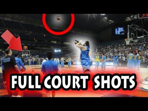 Longest Full Court Shots in Basketball History (NBA)